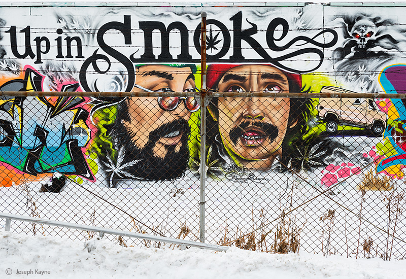 cheech,and,chong,steet,art,chicago,up,in,smoke, photo