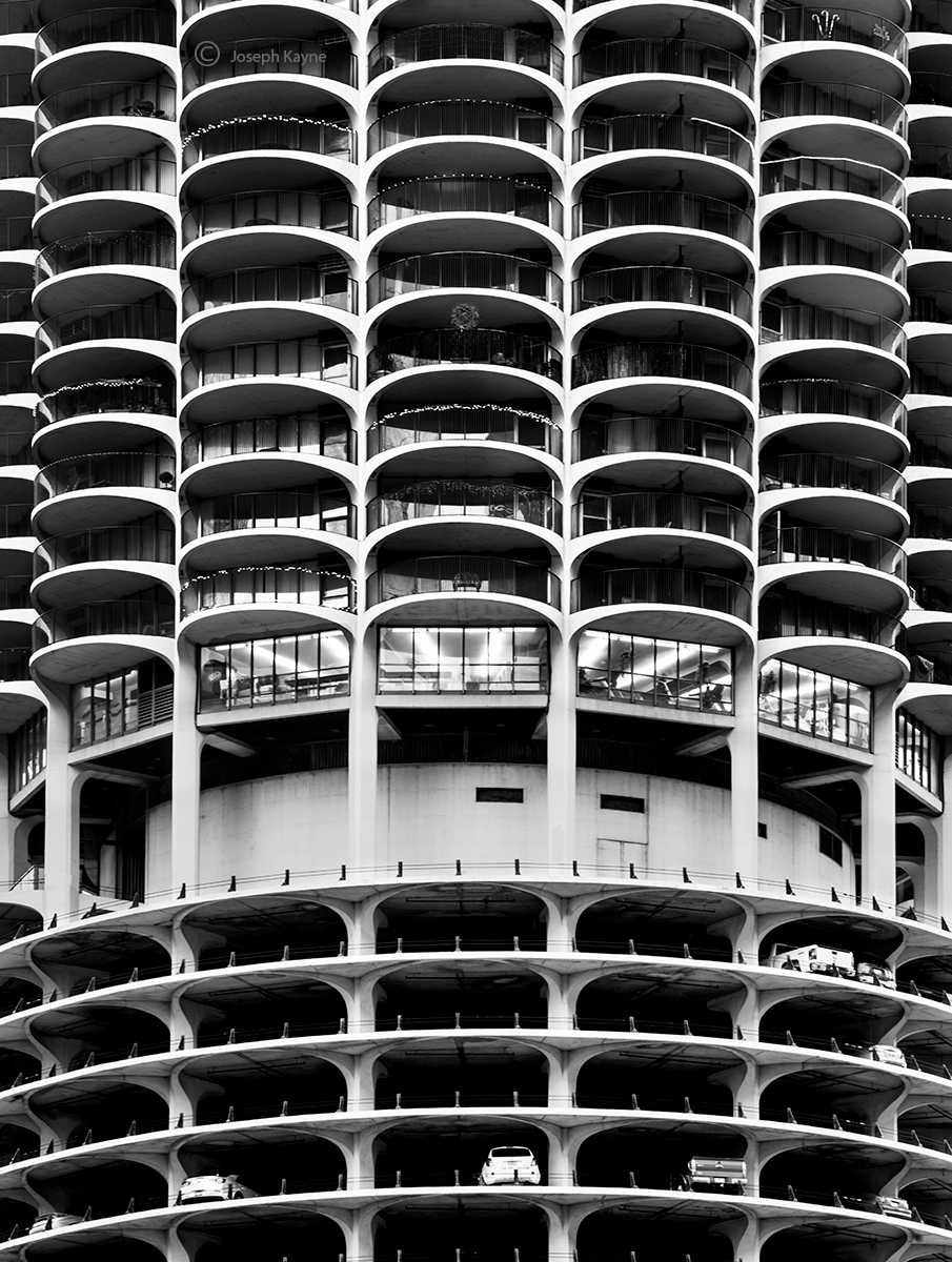 marina,towers,chicago,futurama, photo