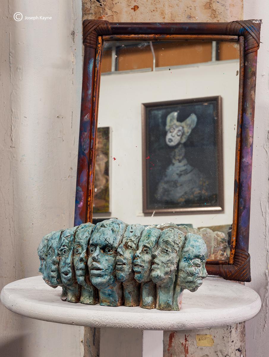 Sculpture & Mirror