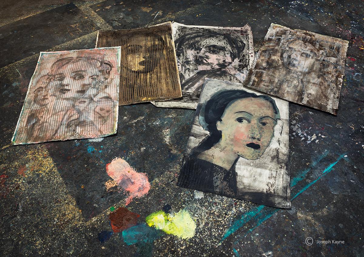 artist-studio,chicago,art,on,the,floor, photo