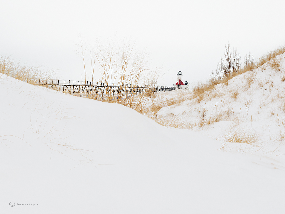 snow,drifts,winter,lake,michigan, photo