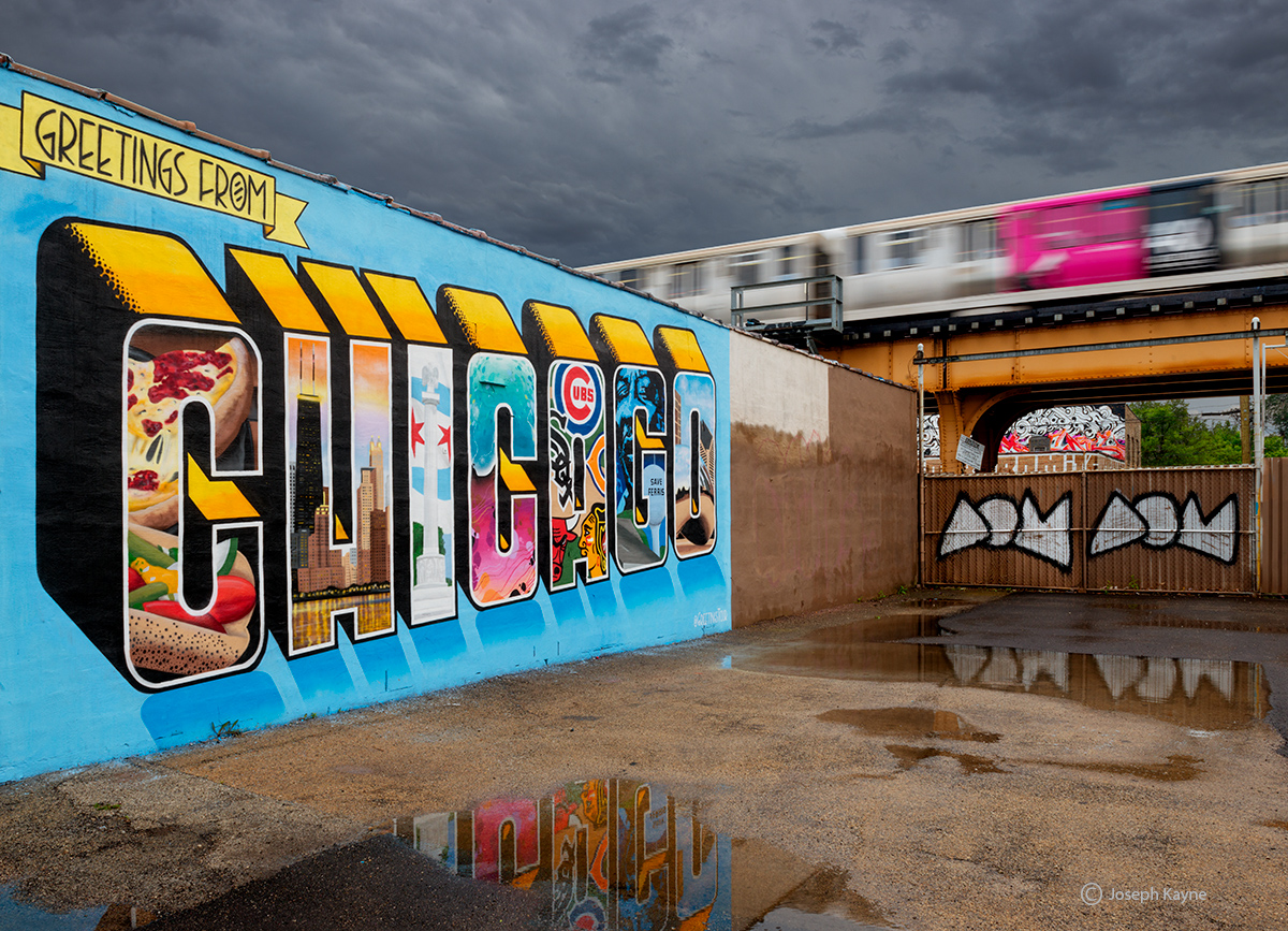 Chicago,street,art,greetings,from,chicago, photo