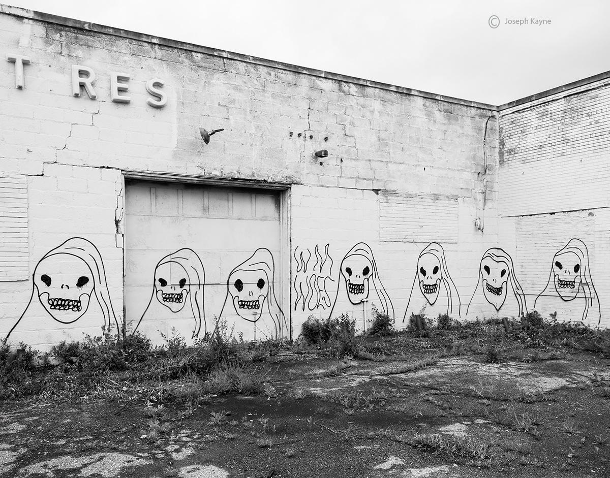 Skeleton Graffiti
