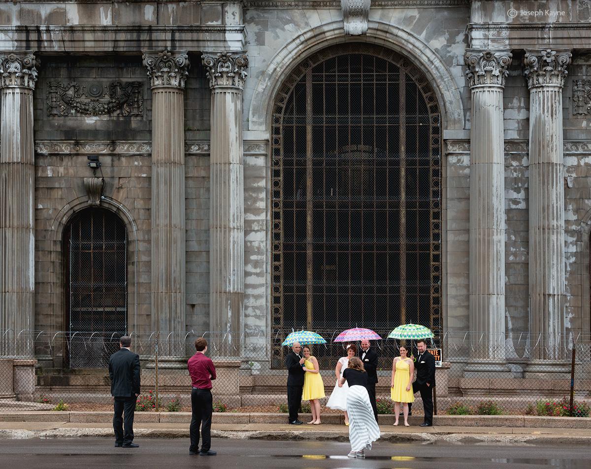 Wedding Snapshot Among The Blight