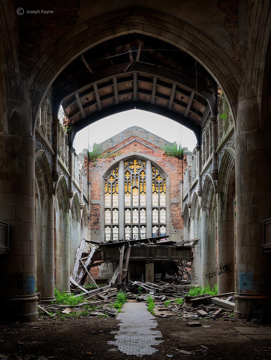 abandoned,faith,church,ruins,rust,belt, photo