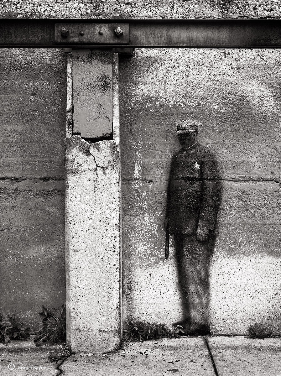 ghost,cop,fading,street,art,chicago, photo