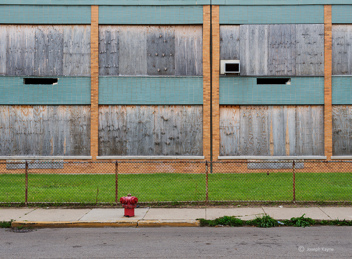 boarded,up,school,chicago,southide, photo