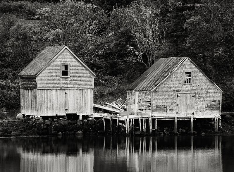 old,fising,shacks,nova,scotia, photo