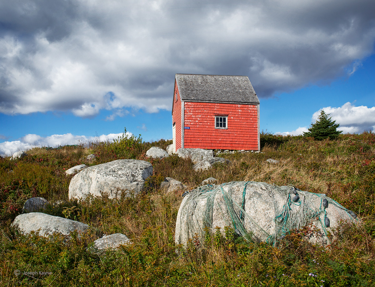 Fishing Shed & NetsPeggy's Cove