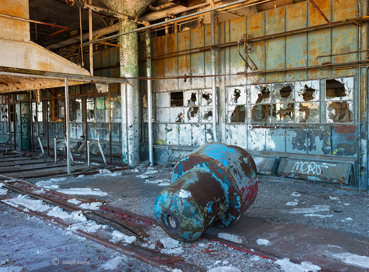 time,capsule,abandoned,factory,rust,belt, photo