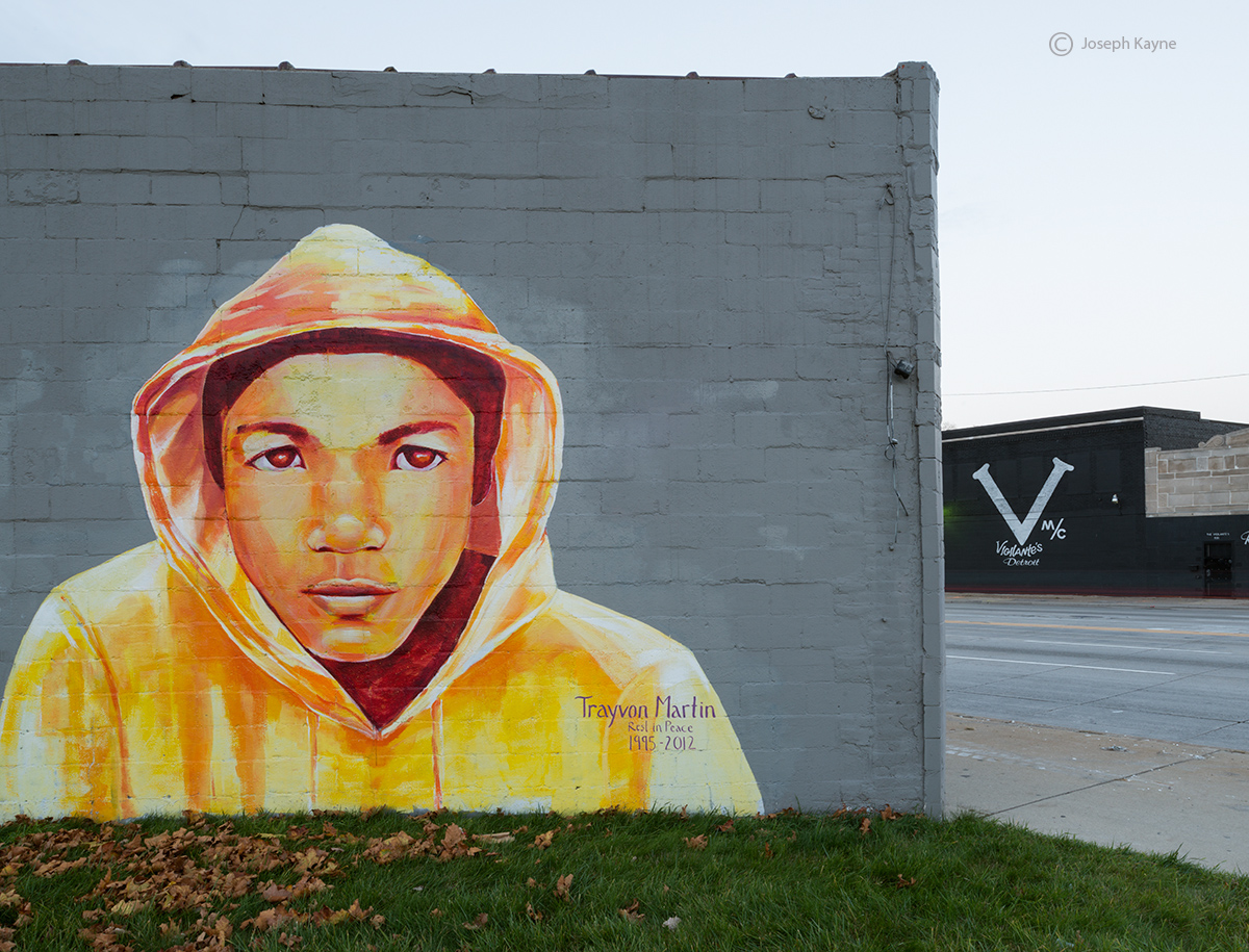 RIP,trayvon,martin,memorial,detroit,street,art, photo