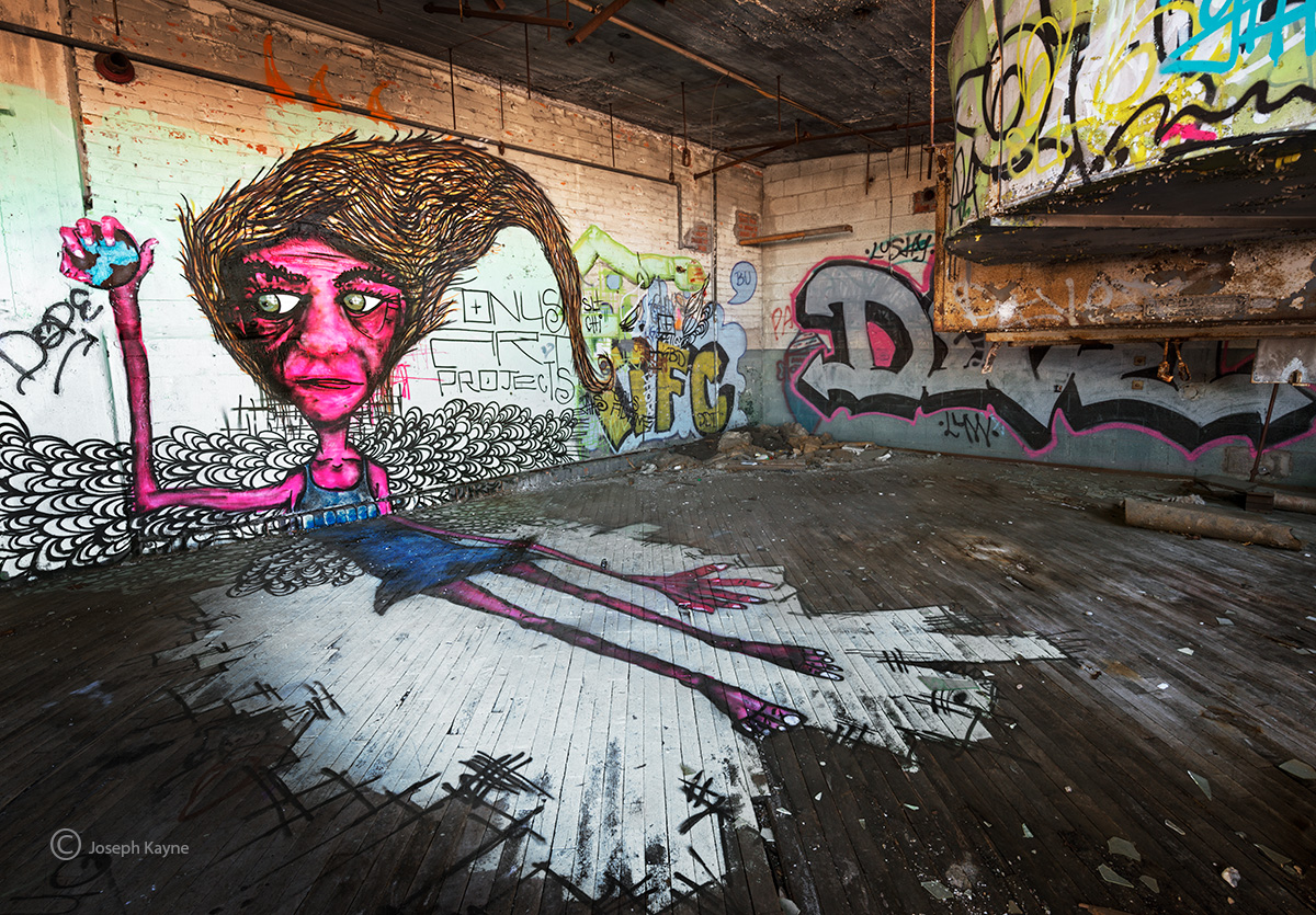 dope,detroit,street,art,abandoned,warehouse, photo