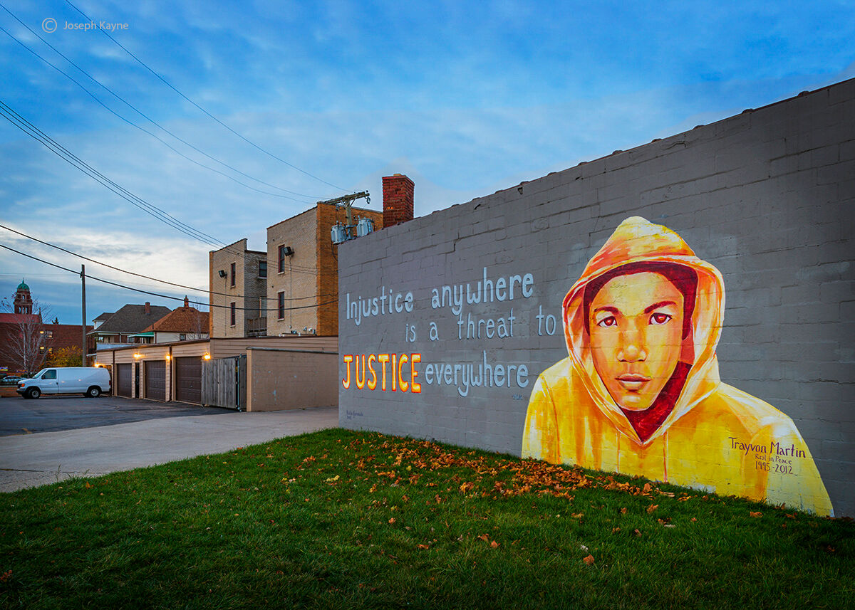 trayvon,martin,mural,detroit,street,art, photo