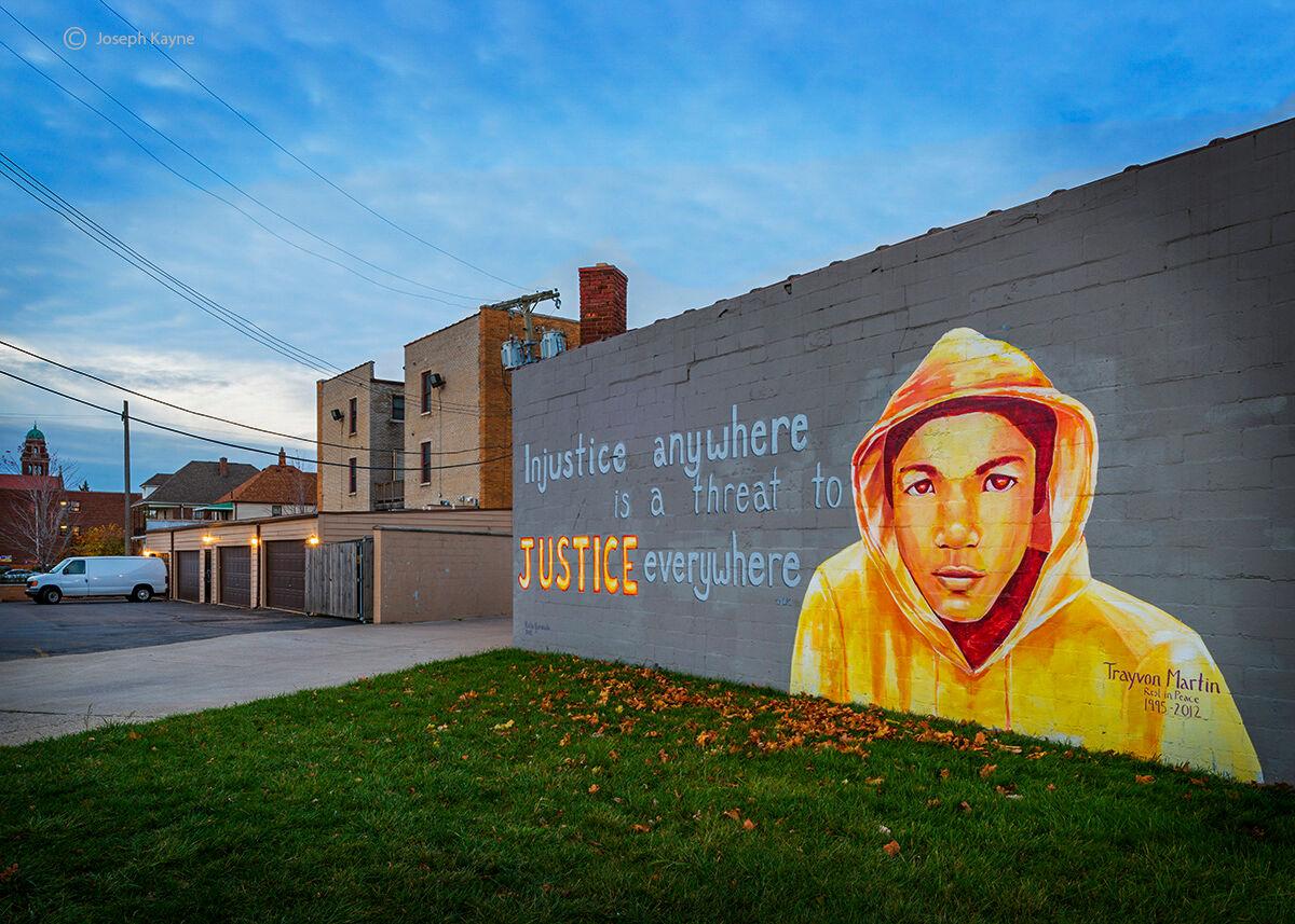 trayvon,martin,mural,detroit,street,art, photo