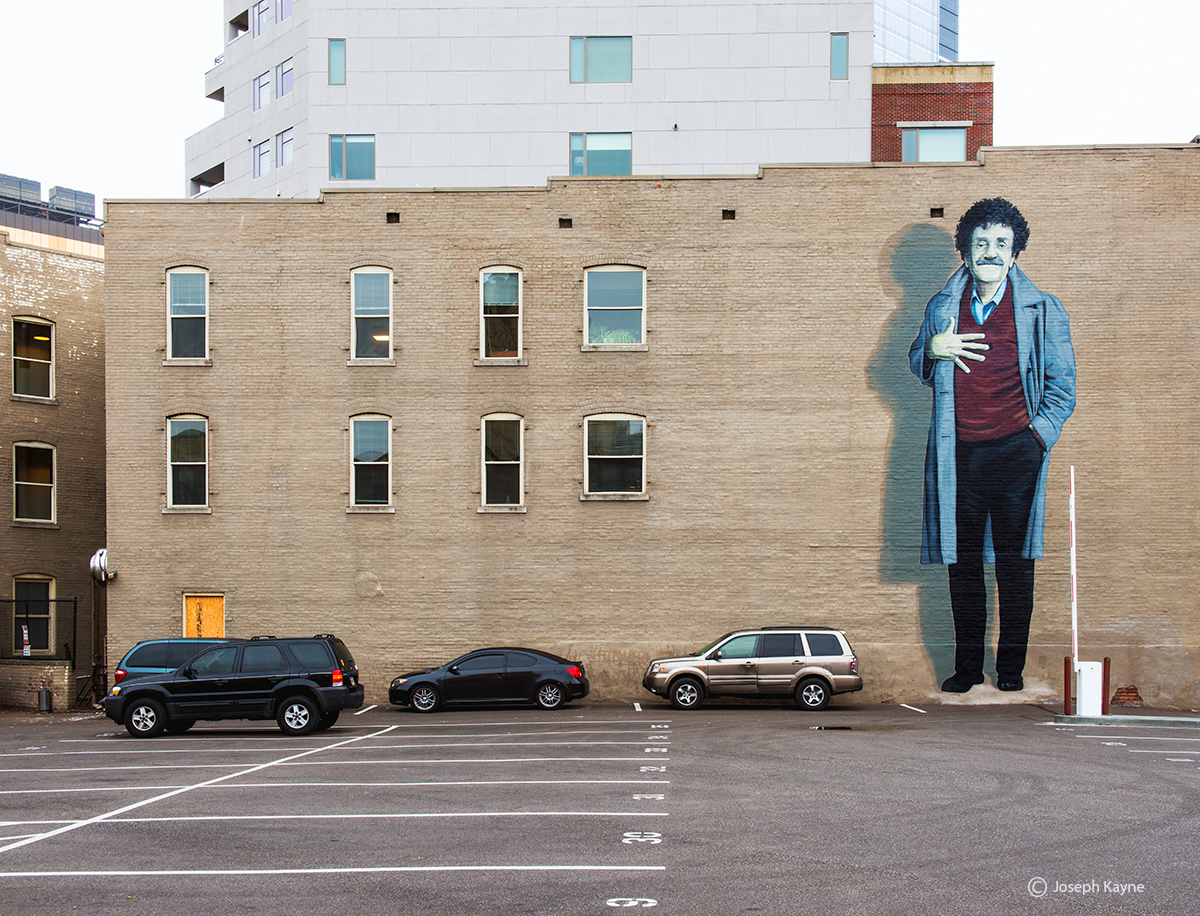 slaughterhouse,five,kurt,vonnegut,mural, photo