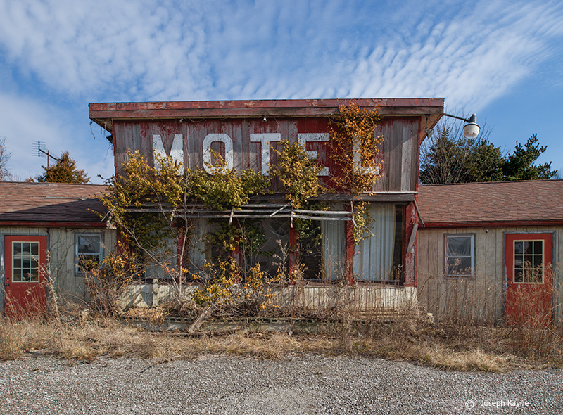 old,abandoned,motel, photo
