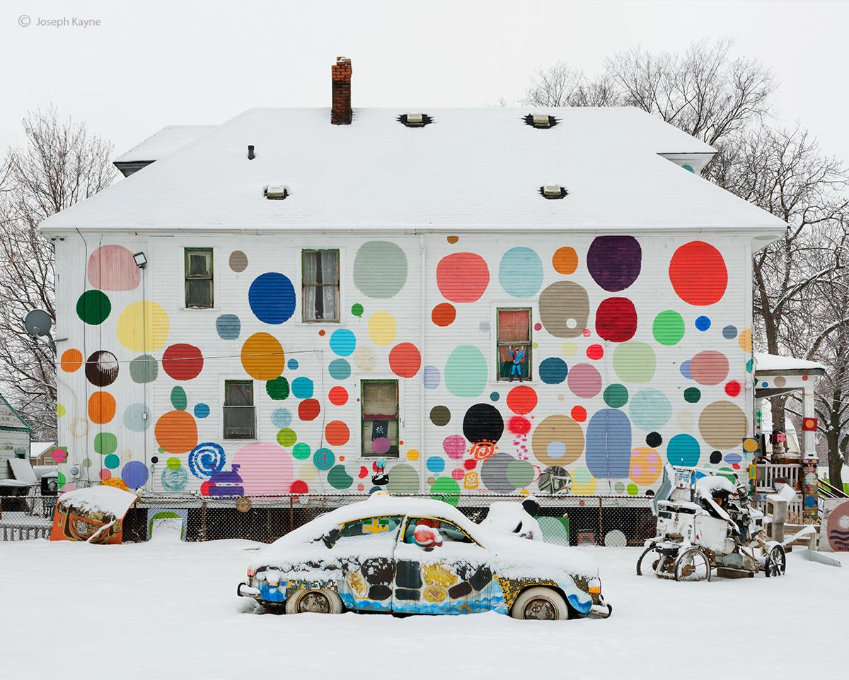 heidelberg,house,detroit,street,art,tyree,guyton, photo