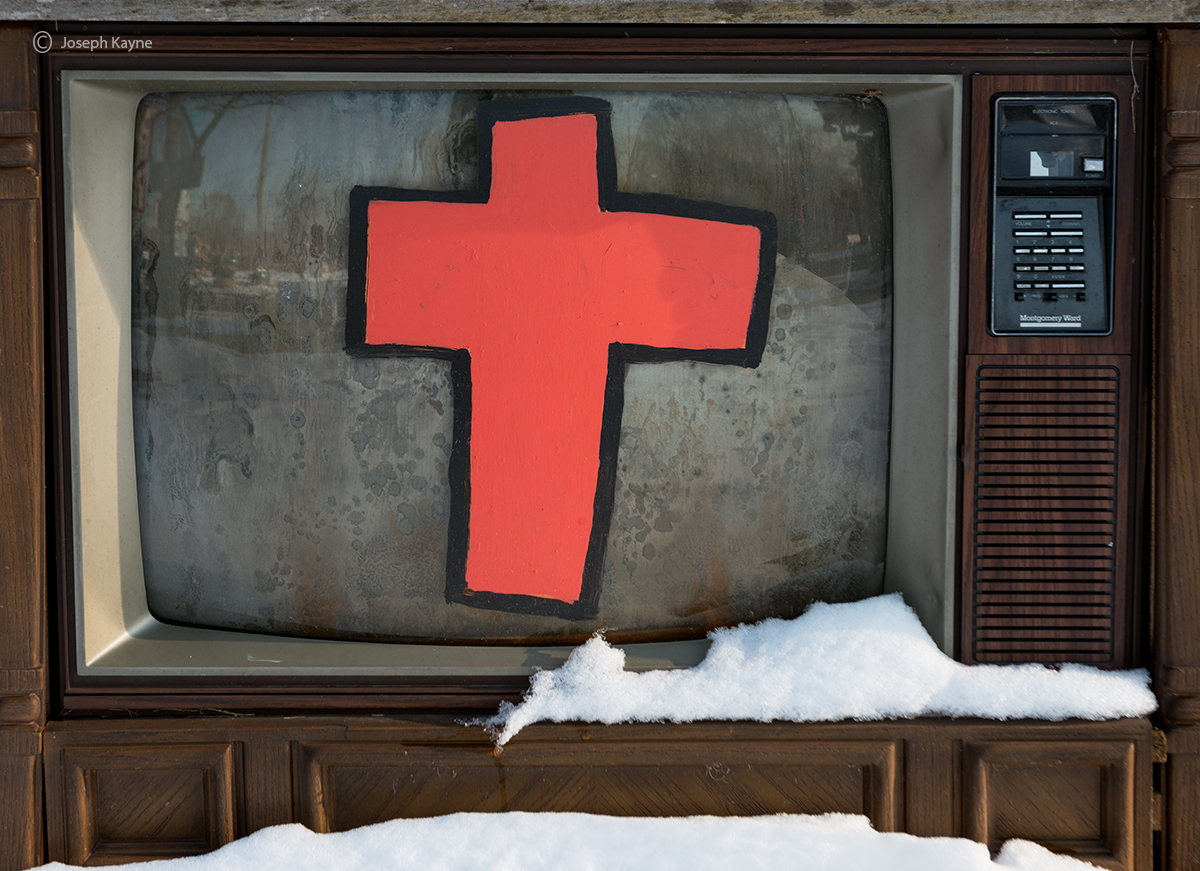 television,evangelism,rust,belt, photo