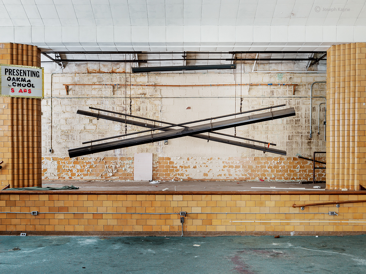 Abandoned School Stage
