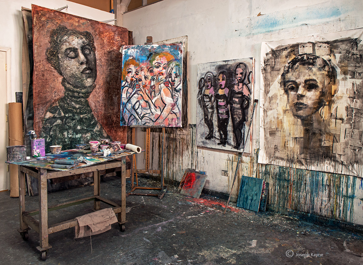 artist,corinna,button,studio,chicago, photo