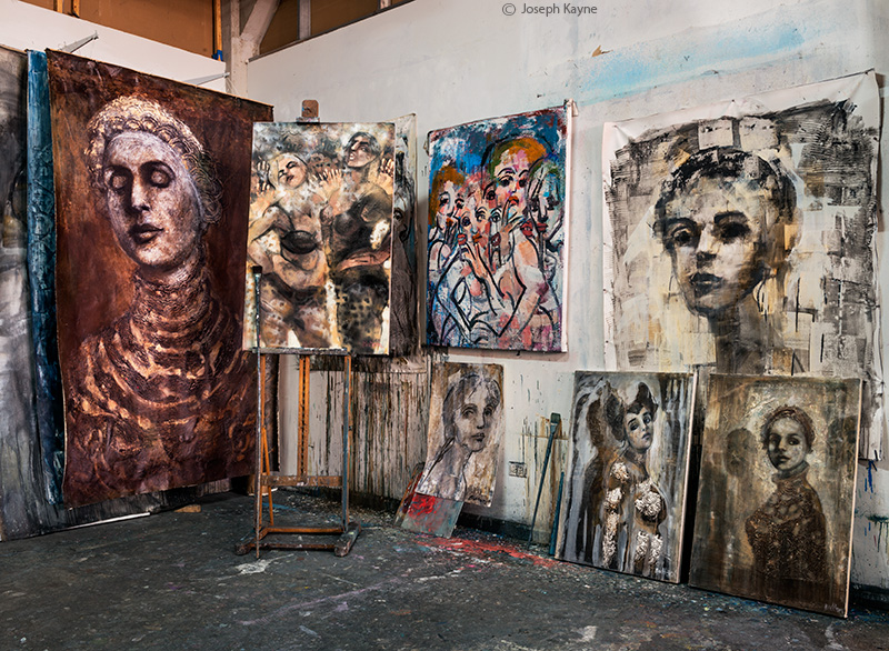 artist,corinna,button,studio,chicago, photo