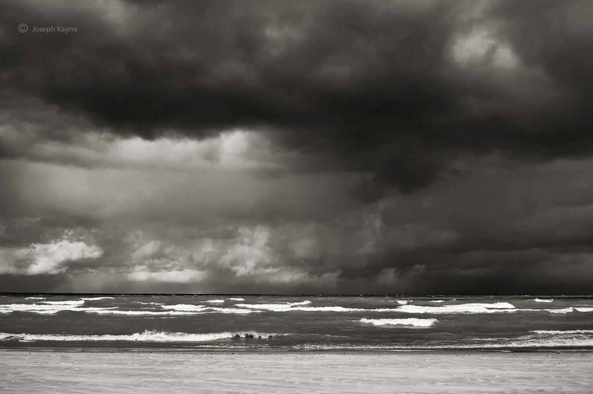 Winter Storm,Lake Michigan