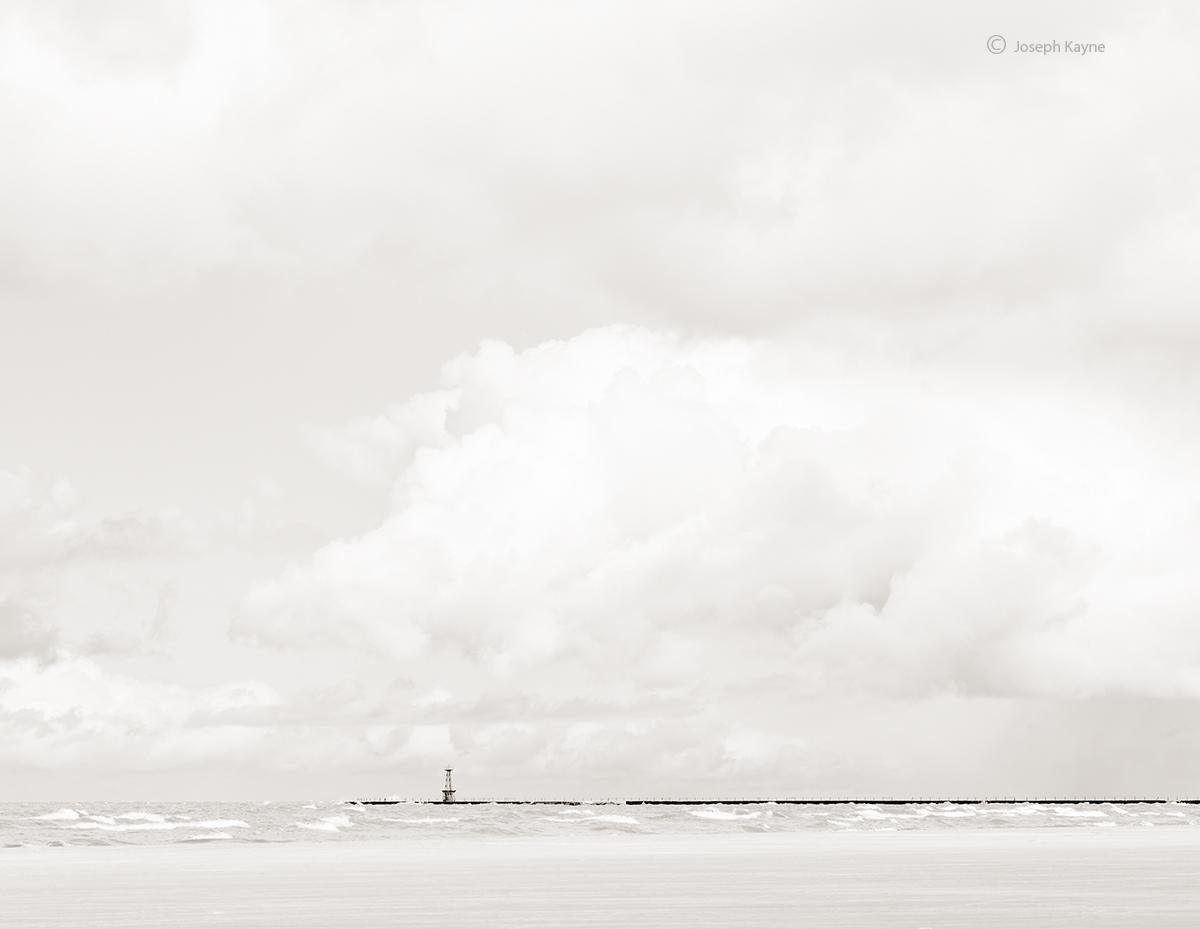 Summer Clouds,Lake Michigan