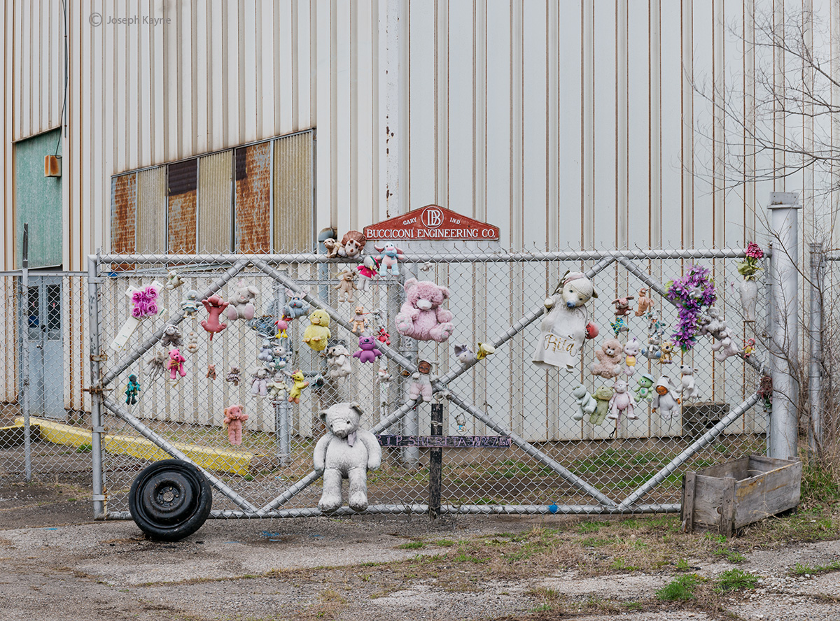 industrial,memorial,gary,indiana,the,urban,landscape, photo