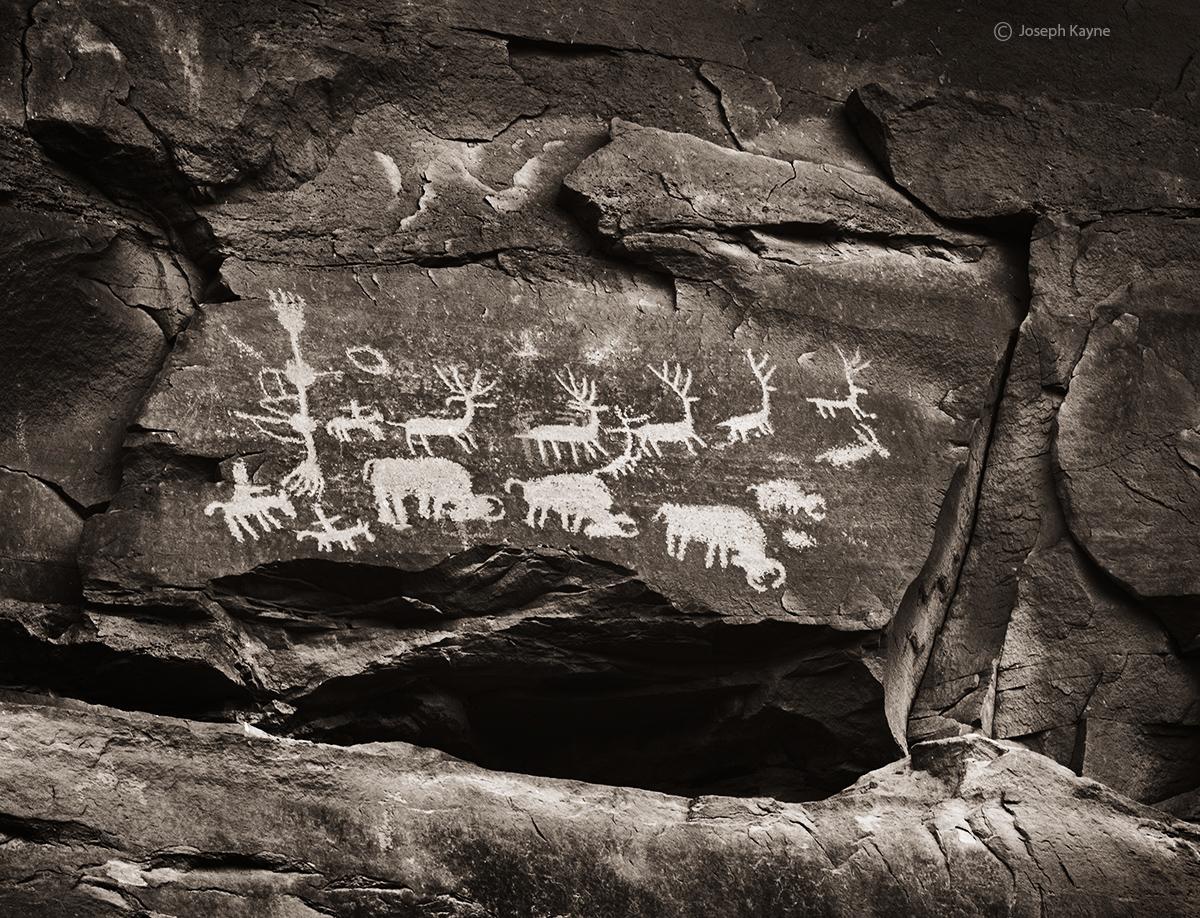 Ancestral Puebloan Petroglyphs