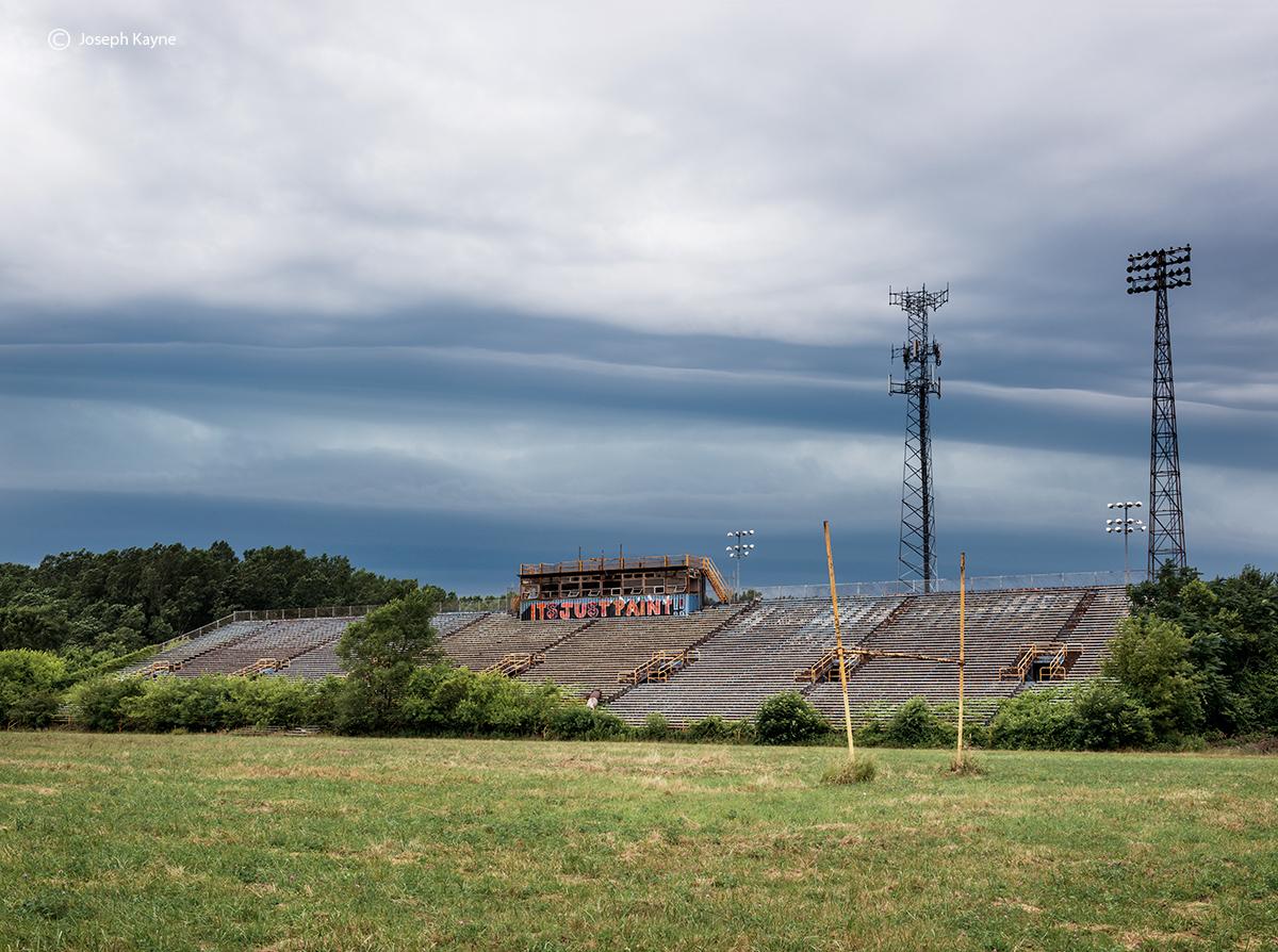 Abandoned Football Field