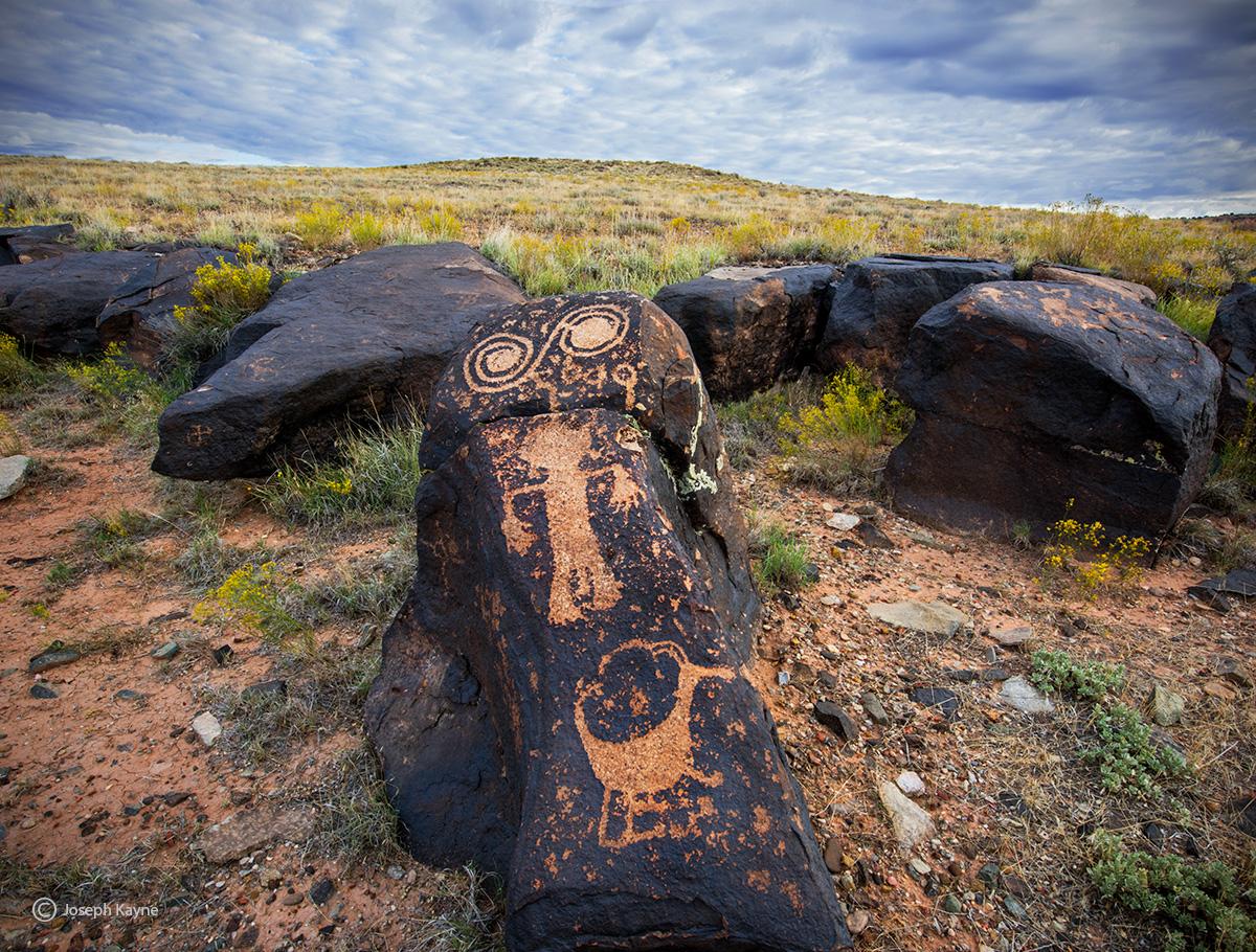 Ancestral Puebloan Petroglyhs