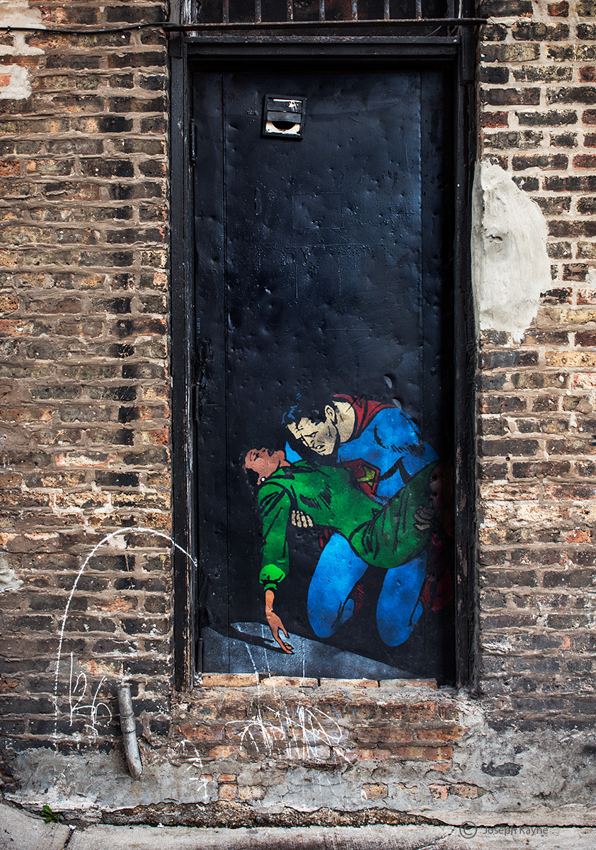 superman,lois,lane,chicago,alley,man,of,steel, photo