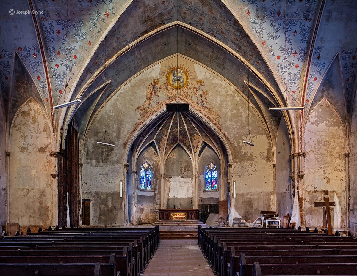 Abandoned Church and Altar, Abandoned Faith