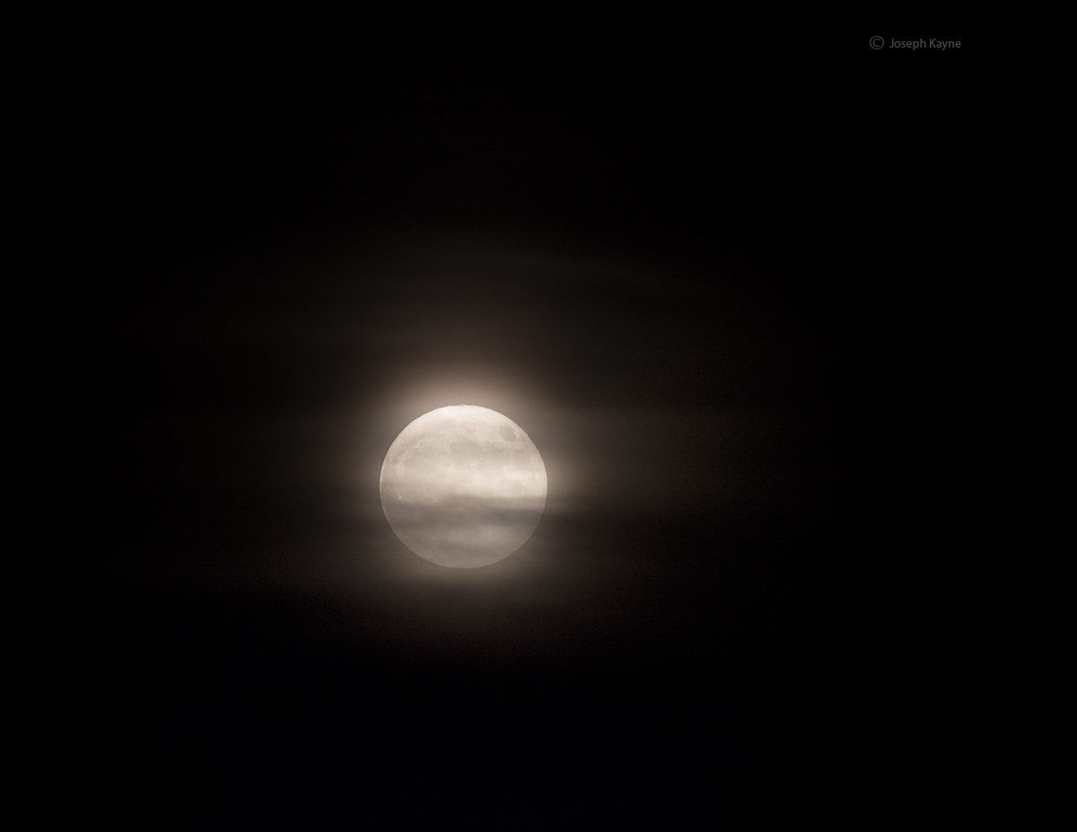 Full Moon Over Lake Michigan