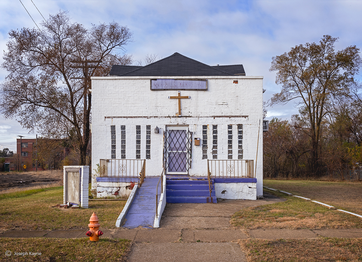 purple,baptist,abandoned,purple,church,rust,belt, photo