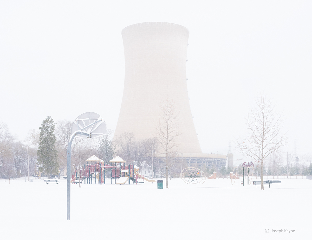 Park and Nuclear Cooling Tower