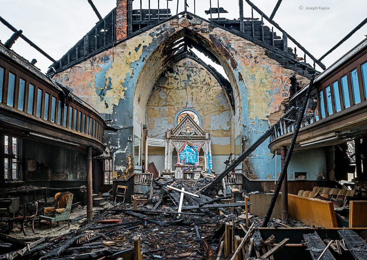 Church Fire Remains