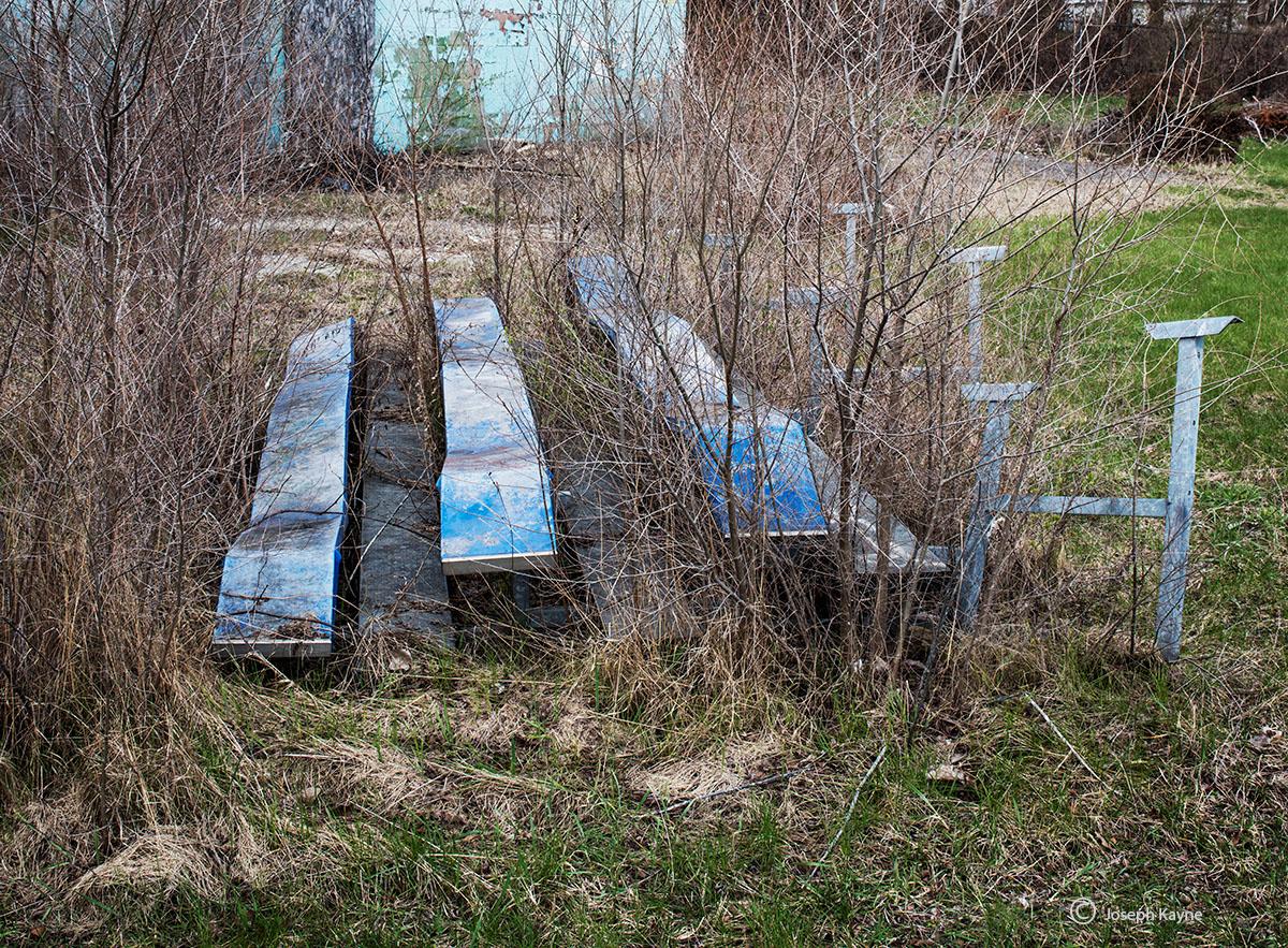 Abandoned Baseball Field