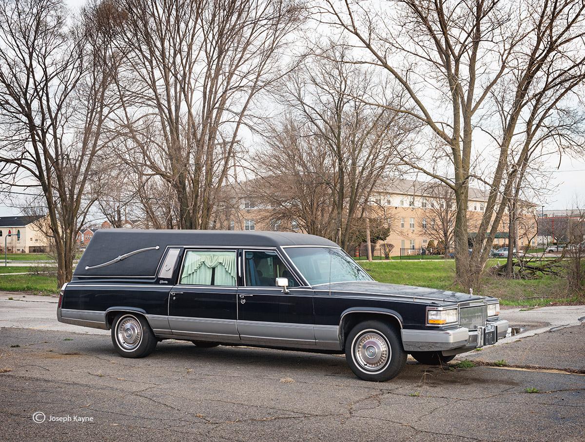Old Cadillac Hearse