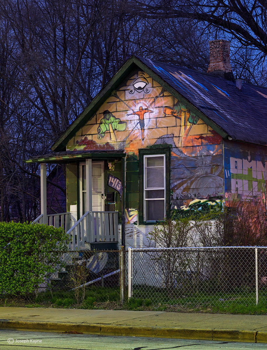 The Graffiti House