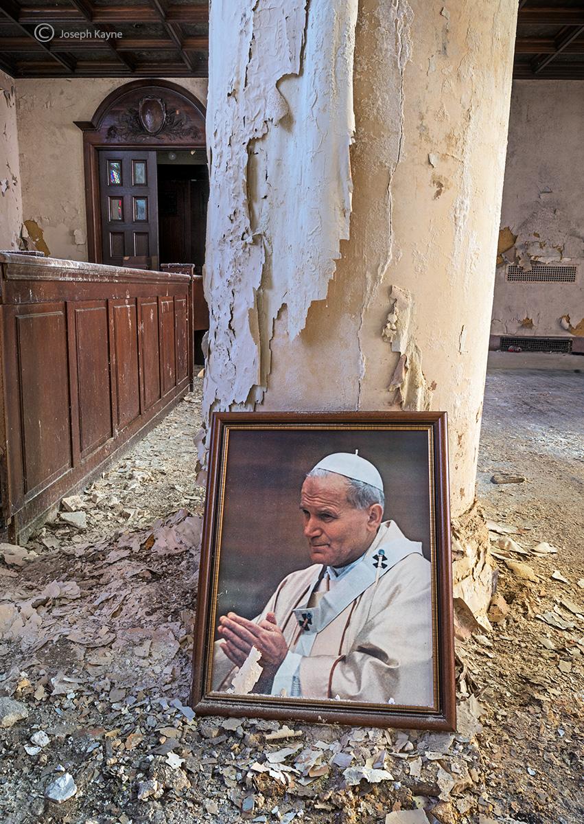 pope,john,paul,II,boston,abandoned,faith, photo