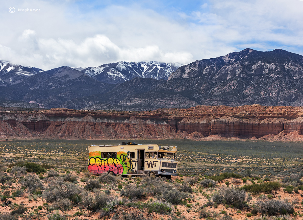 breaking,bad,abandoned,rv,utah, photo