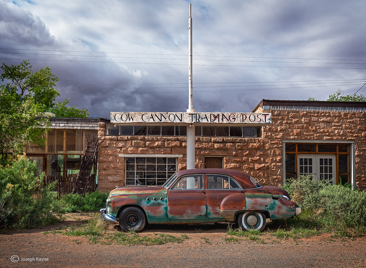 old,buick,cow,canyon,trading,post,utah, photo