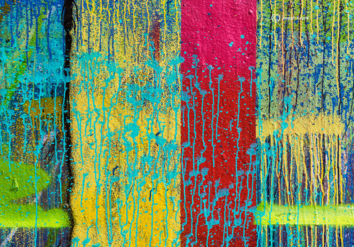 graffiti,abstraction,remnant,VII,USA, photo