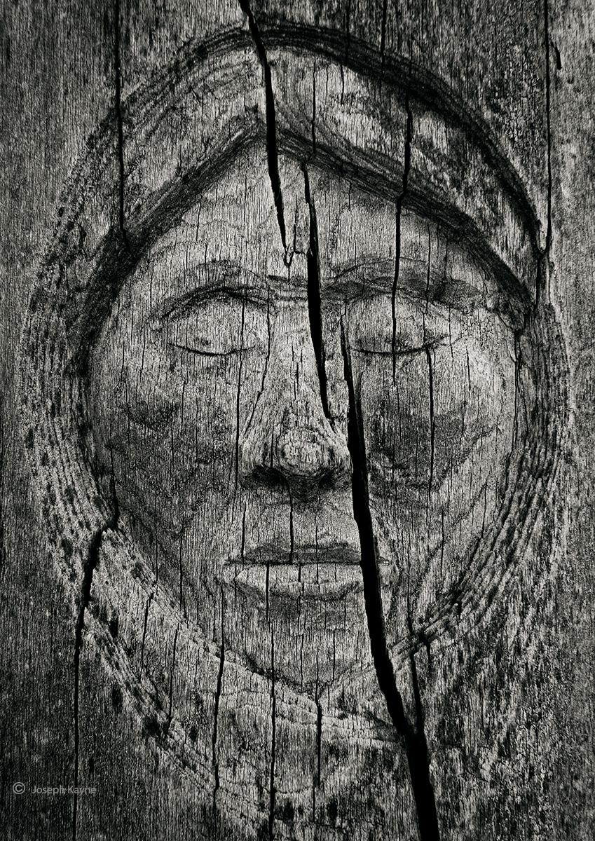 navajo,ghost,old,navajo,tree,carving,hubbell,trading,post, photo