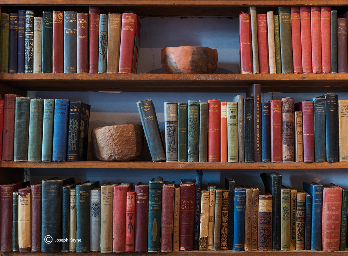 old,books,pots,hubbell,trading,post,ganado,arizona, photo