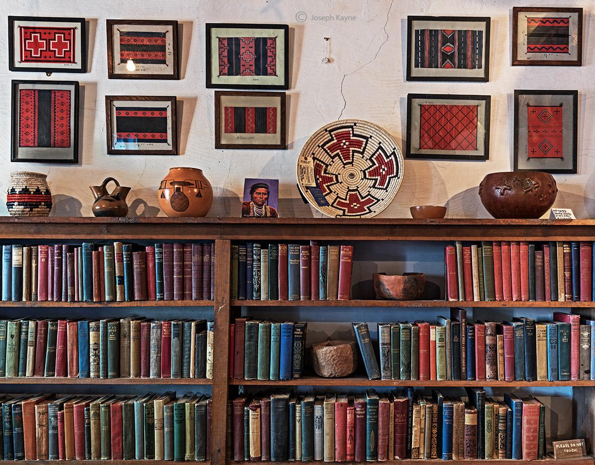old,books,navajo,art,hubbell,trading,post,ganado,arizona, photo