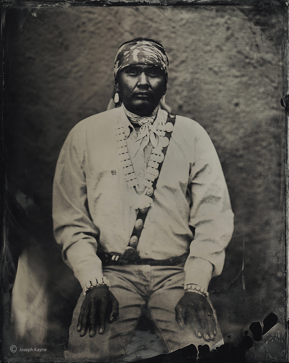 tulley,lincolm,navajo,portrait,hubbell,trading post,ganado,arizona,wet,plate,collodion,portrait, photo