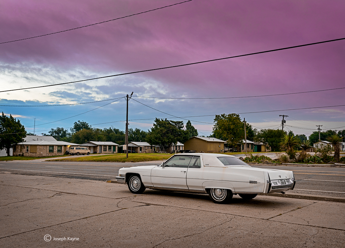 coupe,de,ville,white,cadillac,texas,car, photo