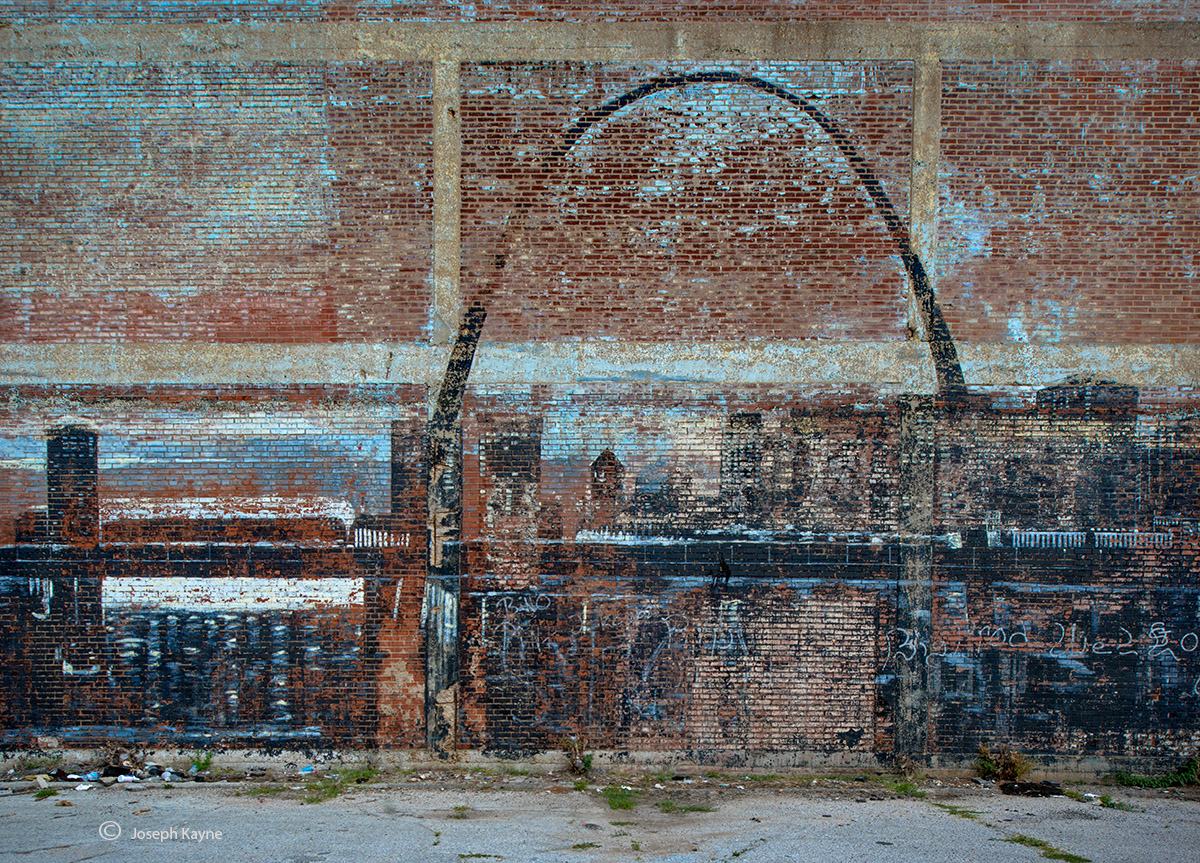 gateway,to,the,west,gateway,arch,west,st,louis,old,mural, photo